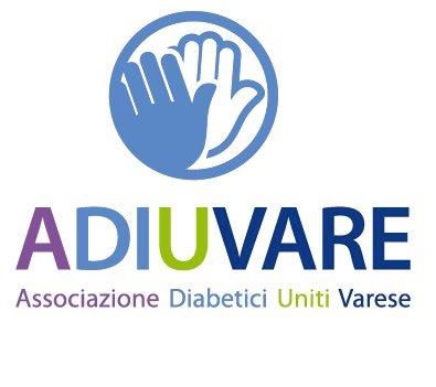 ADIUVARE Associazione Diabetici Uniti Varese- Reg. Lombardia Mobile Logo