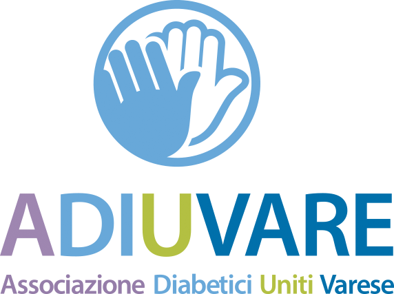 ADIUVARE Associazione Diabetici Uniti Varese- Reg. Lombardia Logo